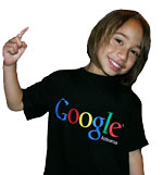 Atutahi rocking a Google Aotearoa t-shirt