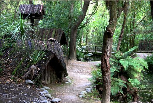 Maori Village: The Ko Tane Living Maori Village Is A Brilliant