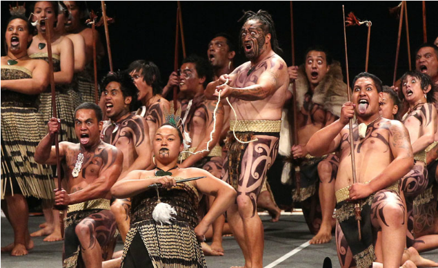 "Maori Haka: Kataore Shines By Bringing ""something New"" To The Te Arawa"
