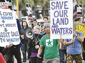 Oil Drilling Protest March-
