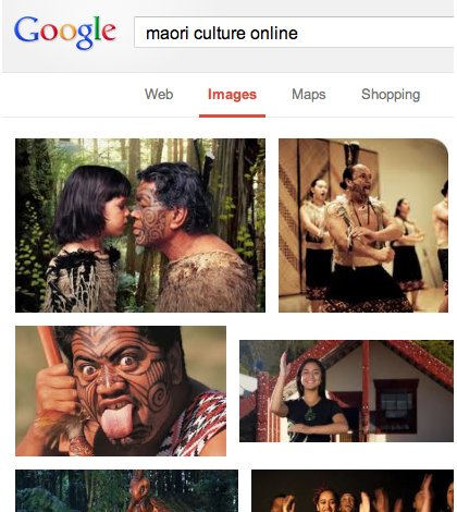 Maori culture adapting to presence in online media