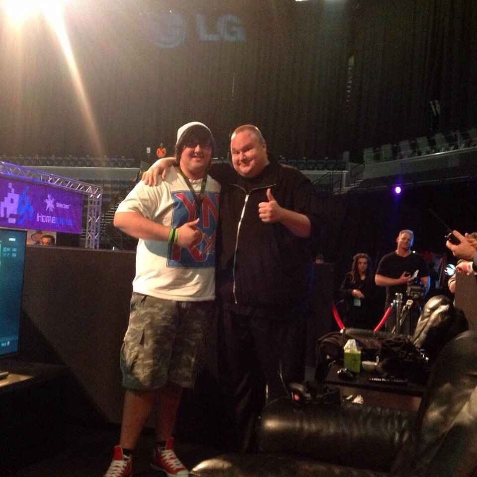Maori gamer takes on Kim Dotcom and WINS #CallofDuty