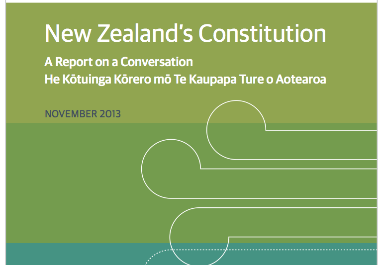 Constitutional Review report now complete, but what does it mean for Maori? +report