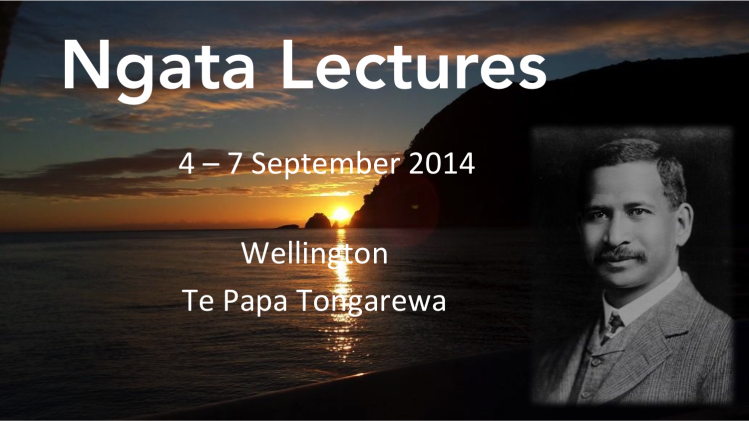 NGATA LECTURES - REGISTER NOW