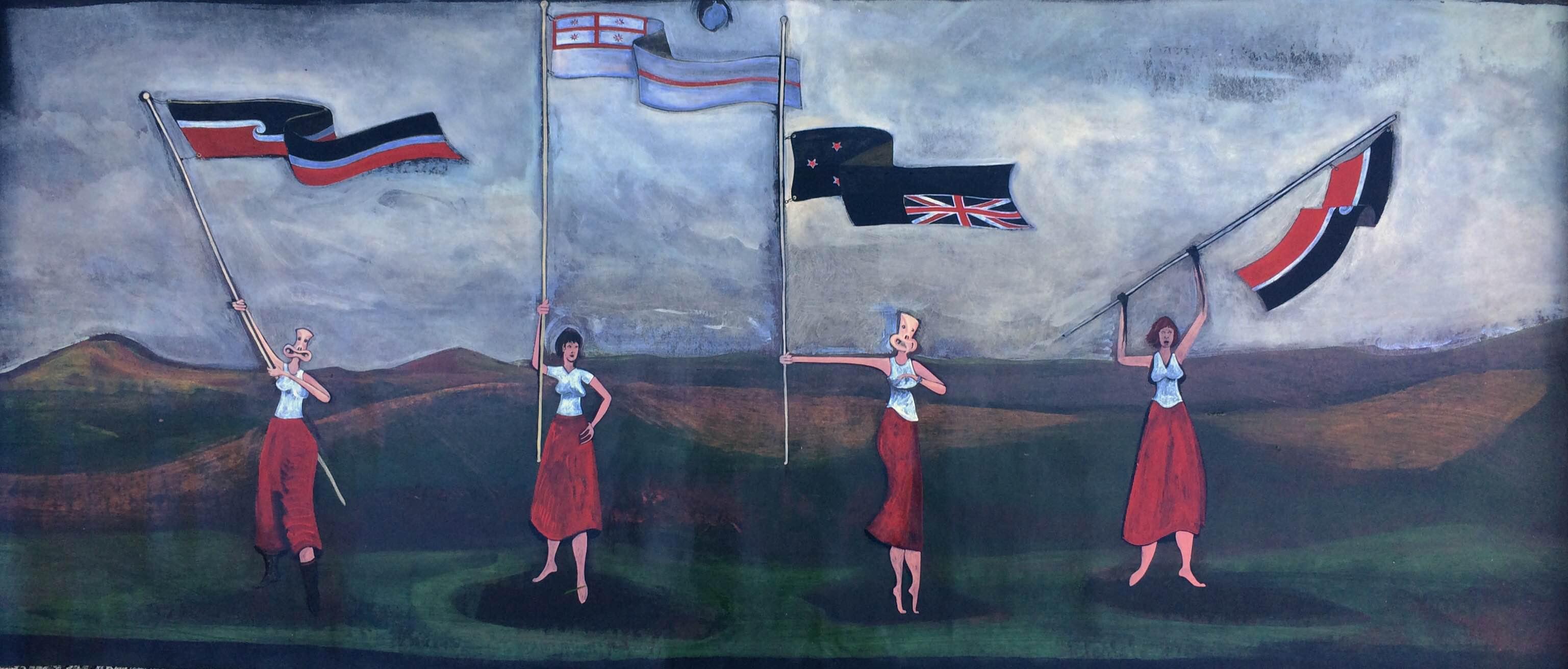Tino Rangatiratanga Flag, Andrea Hopkins
