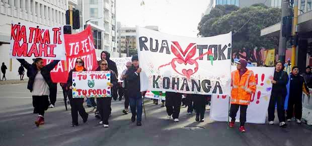 KohangaReoProtest
