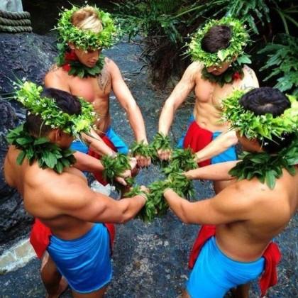 Tropical Island Boys Group Pic