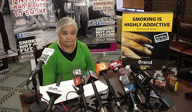 Tariana Turia � recipient of the 2014 WHO �World No Tobacco Day� award