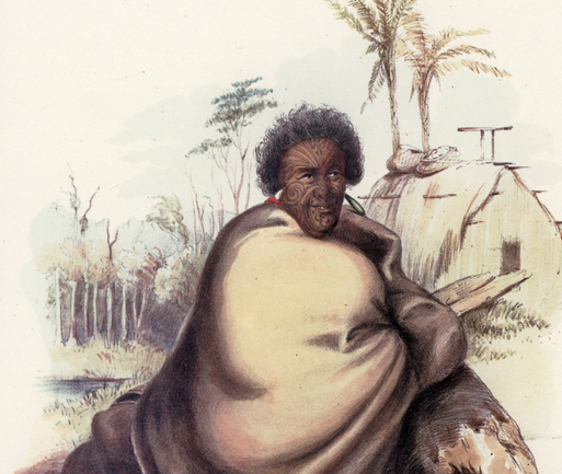 Death of the First Maori King