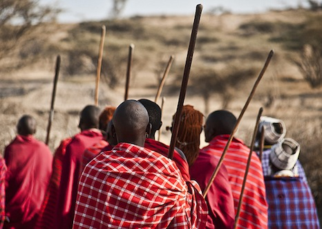 Groups like the Maasai will have to move to cities as climate change makes their nomadic lifestyle impossible (Pic: pullarf/Flickr)