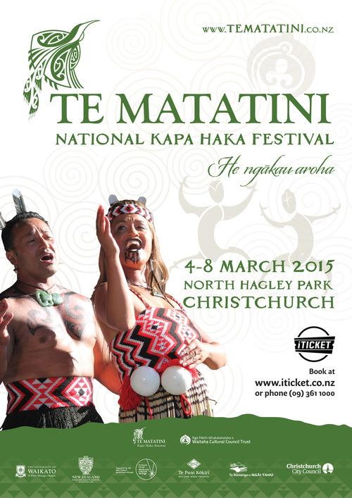 Te Matatini 2015_A3 Poster_green