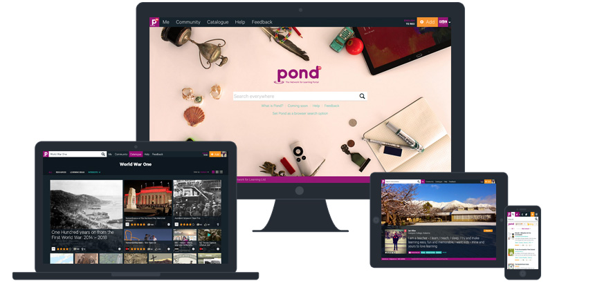 pond-on-devices